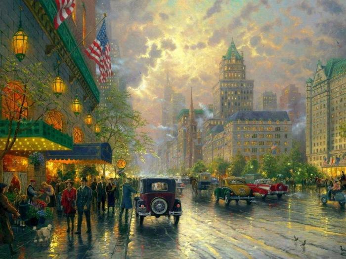 Картины Thomas Kinkade