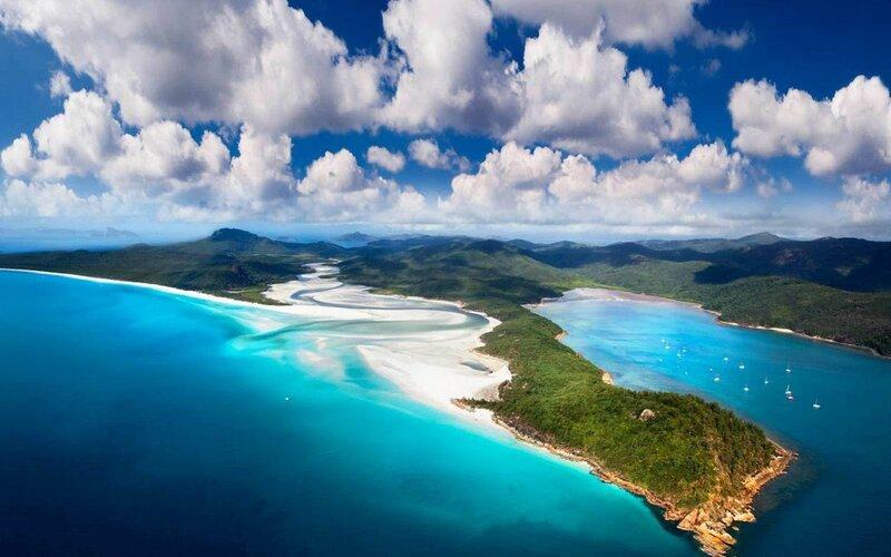 Австралия - Райские острова Уитсанди