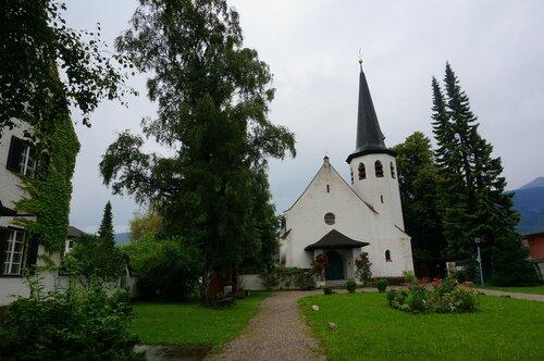 Гармиш-Партенкирхен. Церковь.