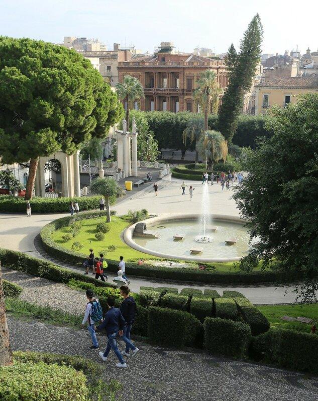 Giardino Bellini park, Catania