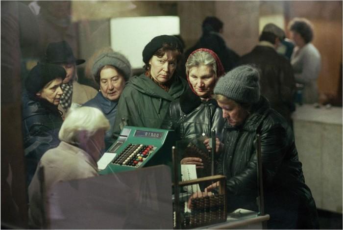 На одном из рынков Москвы
