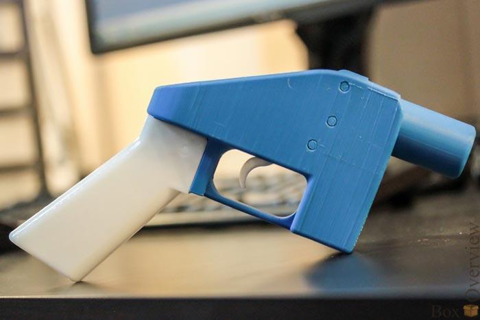 5. Пистолет В скором времени каждый желающий сможет самостоятельно напечатать на 3D-принтере необход