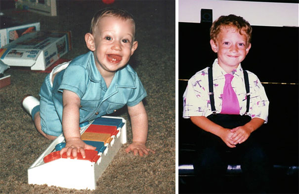 Марк Цукерберг в детстве.