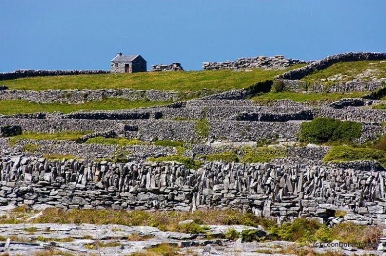 1. Ирландия представляет собой скалистый остров, состоящий из известняка, возраст которого достигает