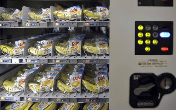 Торговые автоматы. На первый взгляд большинство торговых автоматов в Японии не сильно отличаются от