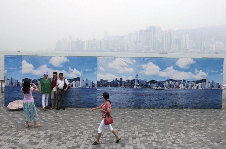 5. Фальшивый горизонт в Гонконге