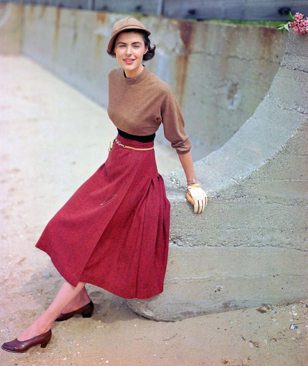 31. Осенняя коллекция 1949 года. Фото Тэд Кронер.