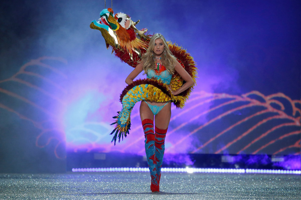 7. Модное нижнее белье от Victoria's Secret позиционировалось как доступная роскошь. Атмосфера