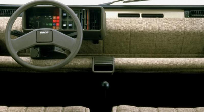Торпедо Fiat Panda 45 (141) 1980–84