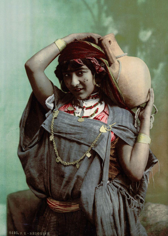 Бедуинская женщина.