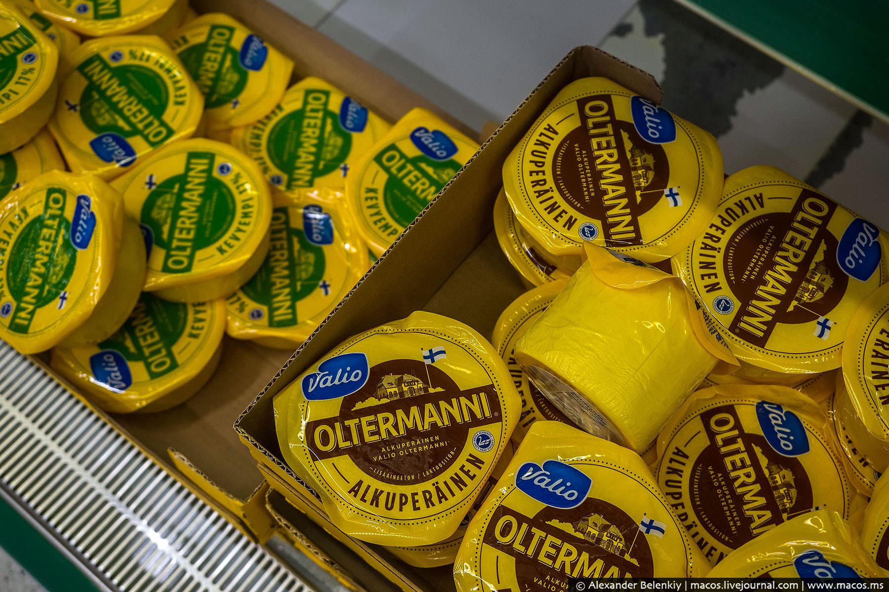 Сыр ольтермани. Самый лучший «массовый» сыр на свете. До введения продуктового эмбарго я покупал его