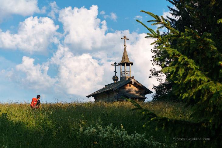 Фотографии и текст Ильи Степанова   1. Деревня Усть Поча — последний пункт в нашем велопутеш