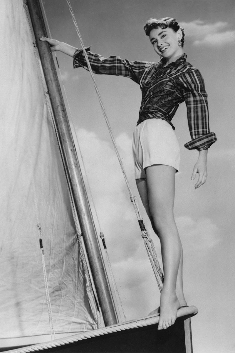 Одри Хепбёрн, 1954.