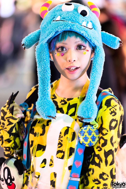 Уличная японская молодежная мода (39 фото)