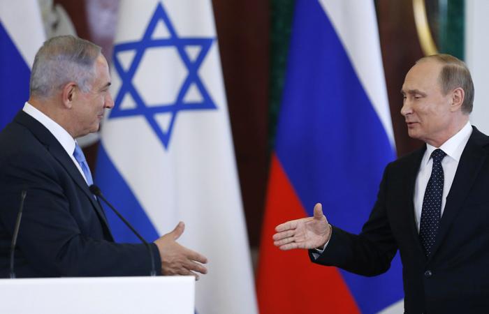Нетаньяху поведал одоговоренности сПутиным поСирии