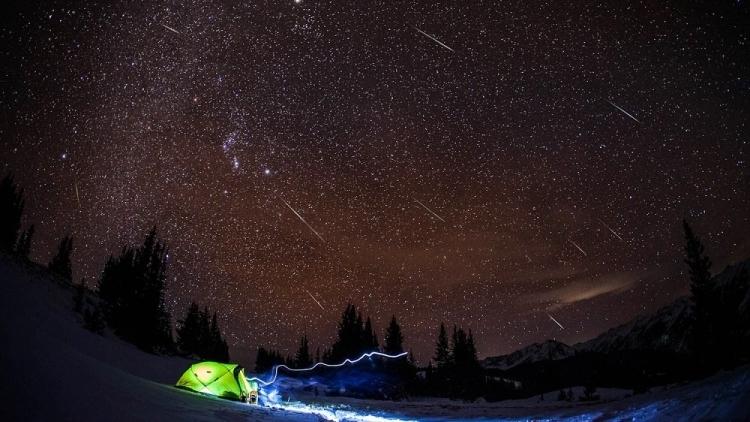 Москвичи смогут наблюдать мощный звездопад вначале января