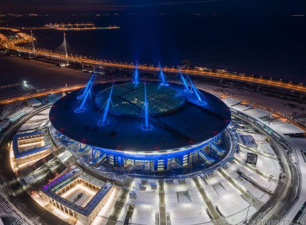 Власти Санкт-Петербурга планируют кконцу февраля настроить поле «Зенит-Арены»
