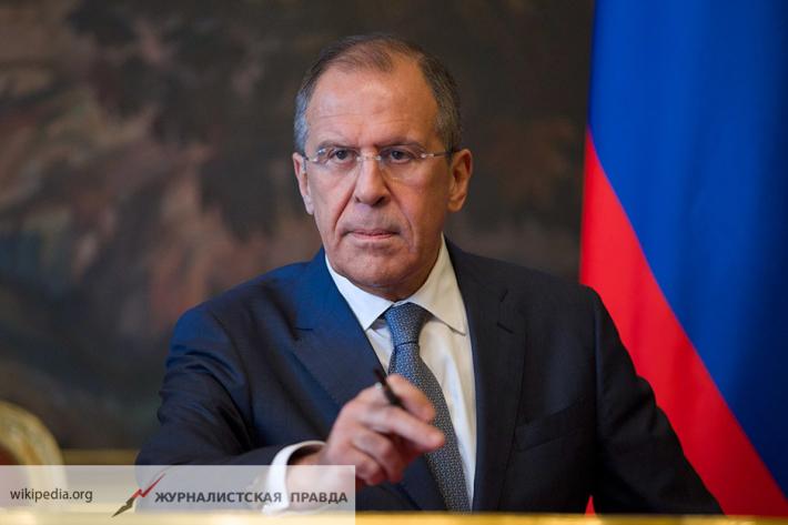 Лавров сказал, почему Российская Федерация ввела ответные меры насанкцииЕС