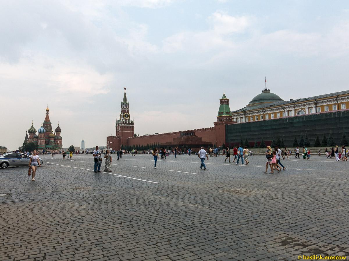 Красная площадь. ГУМ. Июль 2016