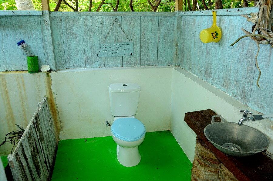 Эко туалет