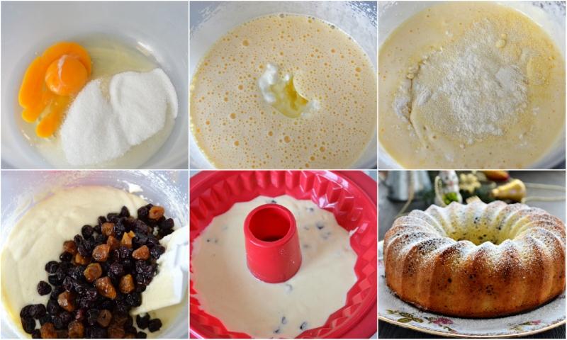 Кексы на кефире с манкой рецепты рецепт пошаговый