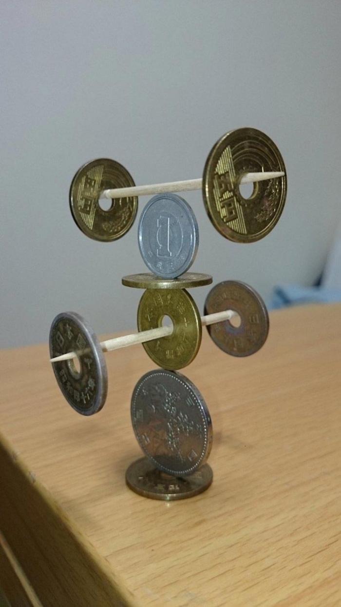 Искусство складывания монет