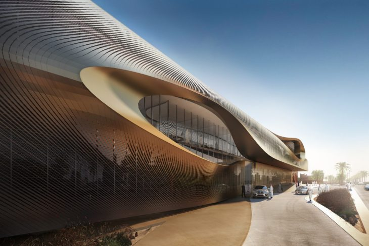 Urban Heritage Administration Centre by Zaha Hadid Architects