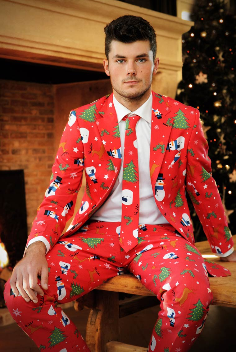 Christmas Suits - Bring the Christmas spirit at the office with these ugly suits