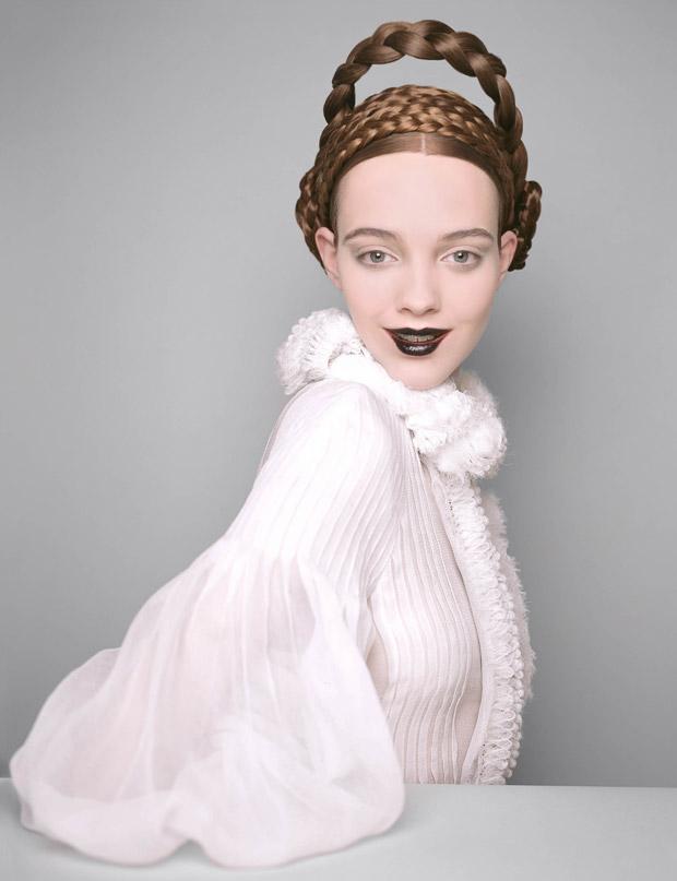 Beauty Queens by Brigitte Niedermair for Harper's Bazaar UK