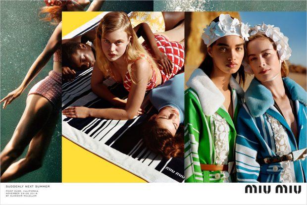 Elle Fanning, Karen Elson, Lara Stone + More for Miu Miu SS17 Campaign