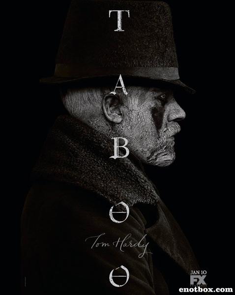 Табу / Taboo - Сезон 1, Серии 1-2 (8) [2017, WEB-DLRip | WEB-DL 1080p] (LostFilm | SDI Media | AlexFilm))