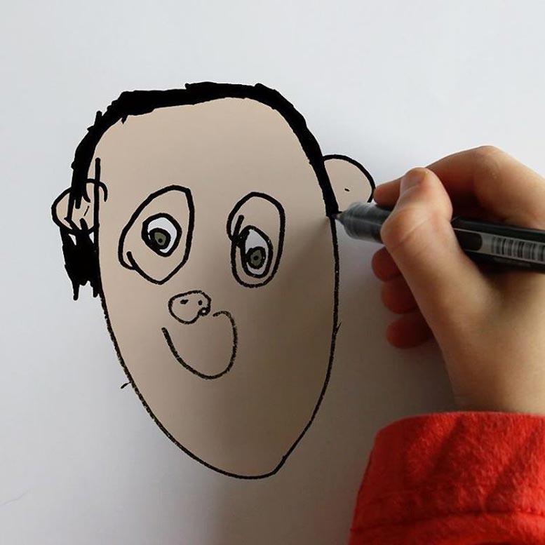 Отец воплощает в жизнь плоды фантазии своего сына / Tom Curtis - things i have drawn