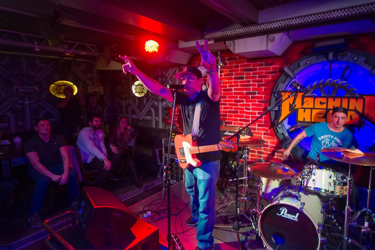 концерт группы Кирпичи, Machine Head 04.11.2016 фото 14