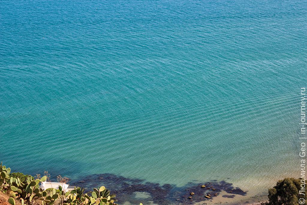 море в Сиди-бу-Саид