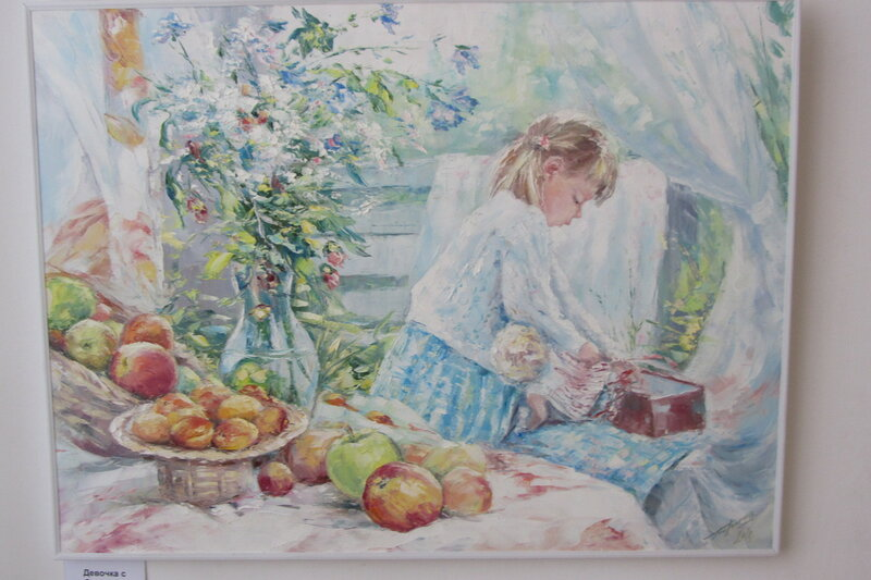 картины Евгения Баранова