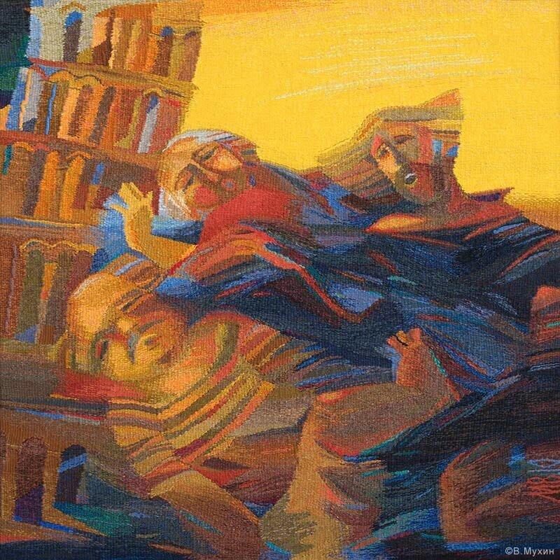 Доброхоты спасают Пизанскую башню. 2010