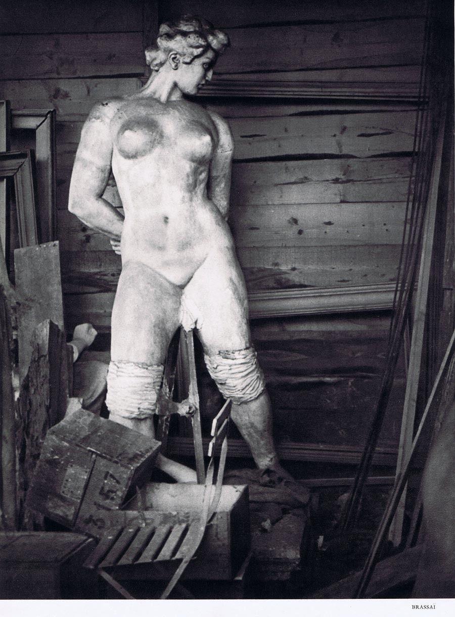 1937. В мастерской Аристида Майоля в Марли-ле-Руа