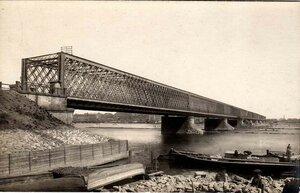 Старый мост через Даугаву. 1904
