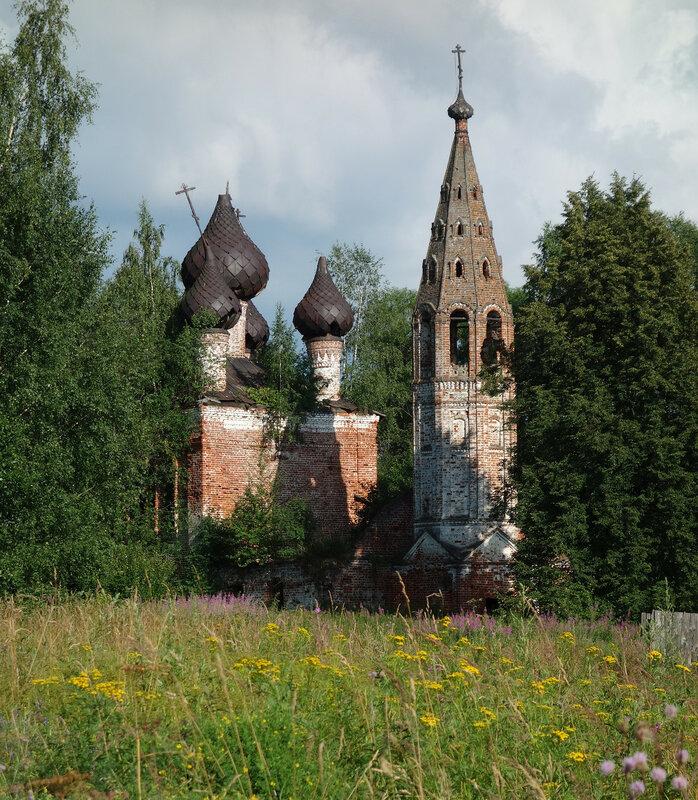 храм, 1772, Выголово