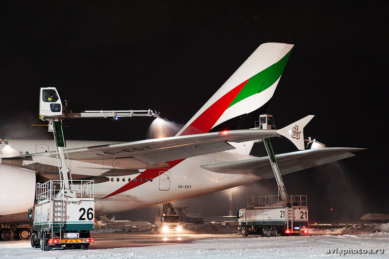 Airbus A380-861 (A6-EDT) Emirates 285_D706801