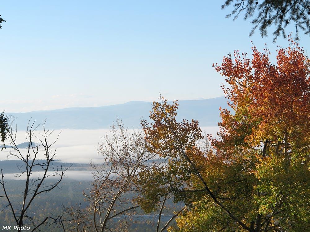 Туман в Тункинской долине