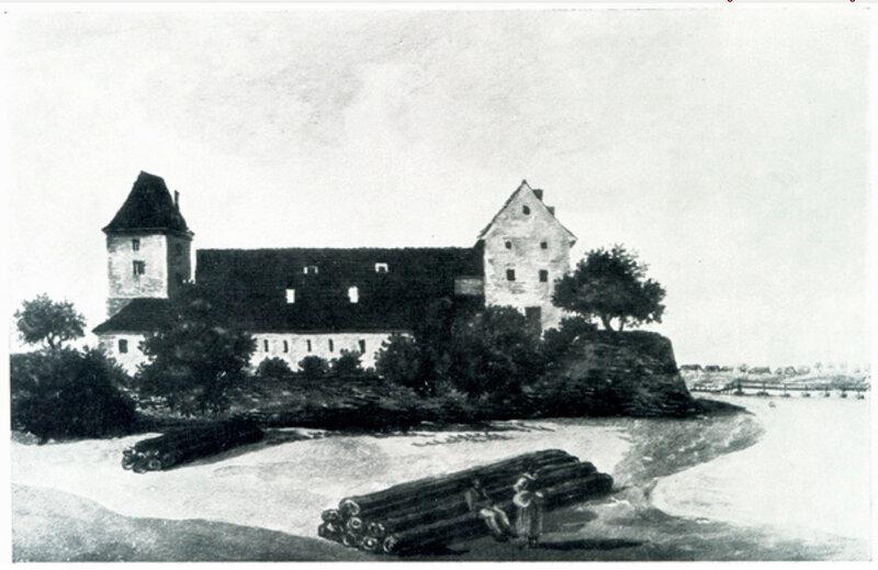 1790-92 Burg Tilsit - Ostseite. Alberti.jpg