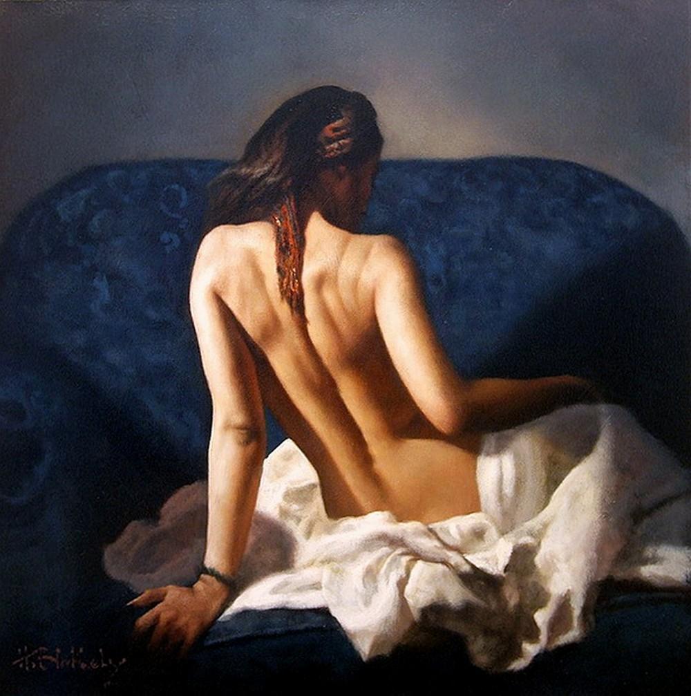 Девушки на картинах Хэмиша Блекли