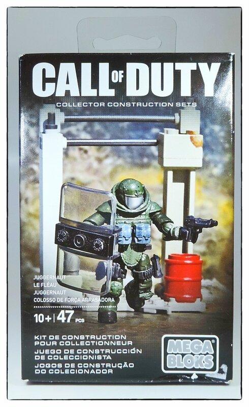 "Фотообзор Mega Bloks Call of Duty ""Juggernaut"""