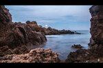 Закат над Балеарским морем (Испания, Коста-Брава, Ллоред-де-Мар)