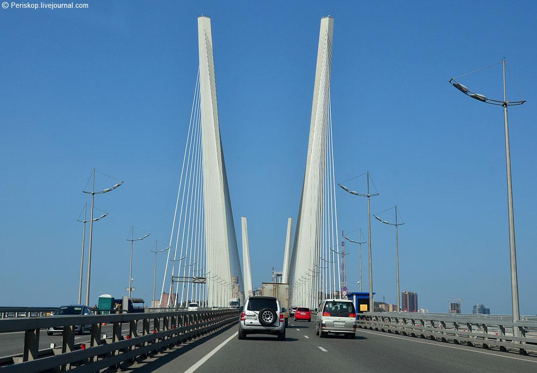 владивосток схема движения мосты