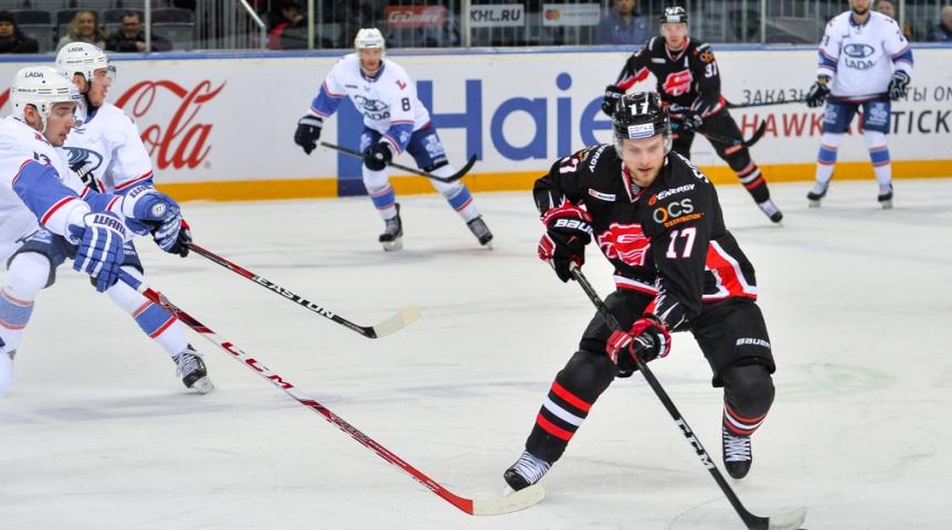 «Авангард» одержал седьмую победу подряд вКХЛ, обыграв «Ладу»