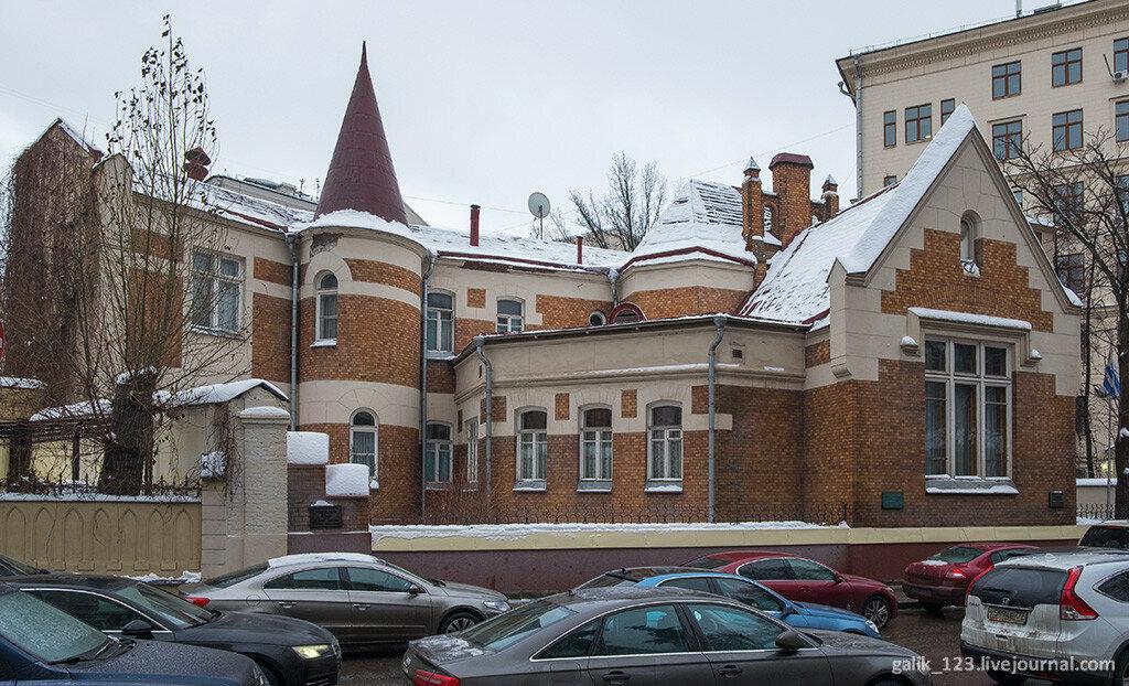 Дом Шехтеля в Ермолаевском переулке