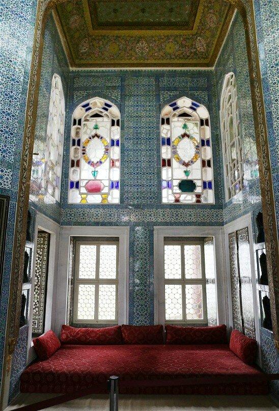 Стамбул, Топкапы. Ереванский павильон (Revan Köşkü)