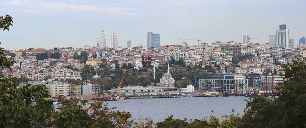 Istanbul, Topkapi Palace. View from the Sofa-I Humayun terrace